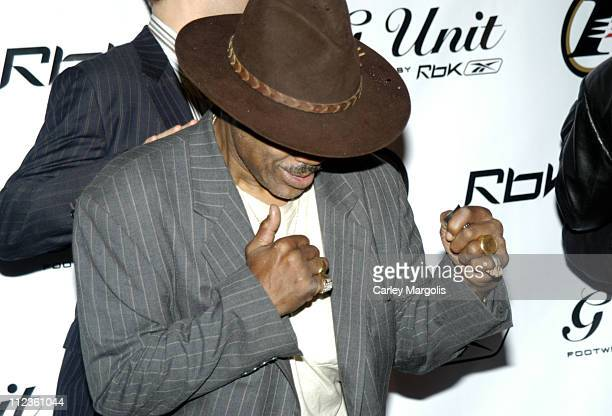 Joe Frazier during 50 Cent and Reebok Host Launch Party to Debut Answer 7 and G6 Footwear at Capitale in New York City New York United States