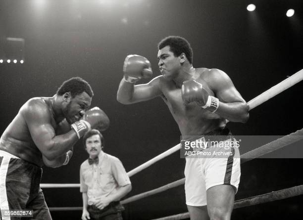 Joe Frazier Mohamed Ali boxing in The Thrilla In Manila at the Philippines Philippine Coliseum Oct 1 1975