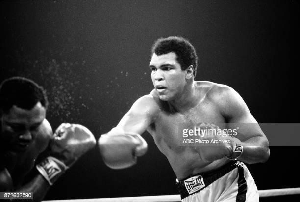 Joe Frazier, Muhammad Ali boxing at Philippine Coliseum, October 1 the Thrilla in Manila.