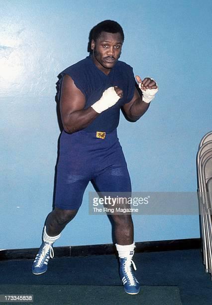 Joe Frazier trains in a gym in Philadelphia, Pennsylvania.
