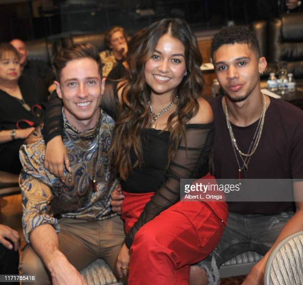 Joe Friedman Tiana Kocher and Devon Daniels at the Special Listening Session By Tiana Kocher held at Westlake Recording Studios on August 31 2019 in...