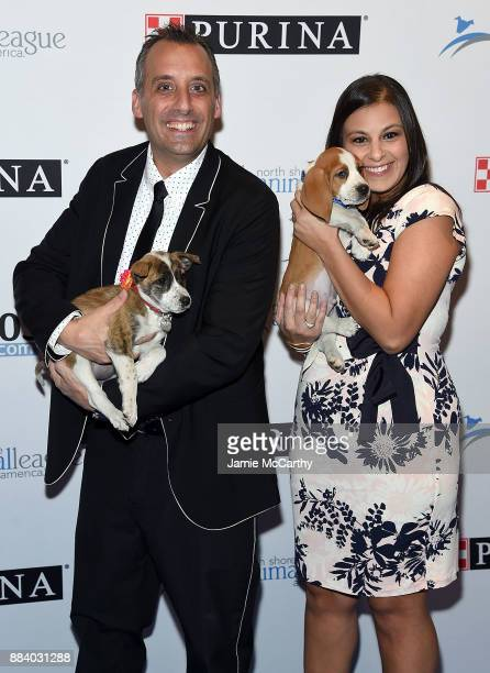 Joe Gatto and Bessy Gatto attend the 2017 North Shore Animal League America Gala at Grand Hyatt New York on December 1 2017 in New York City