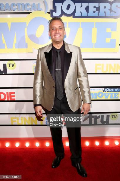 Joe Gatto attends the Impractical Jokers The Movie New York Screening at AMC Lincoln Square Theater on February 18 2020 in New York City