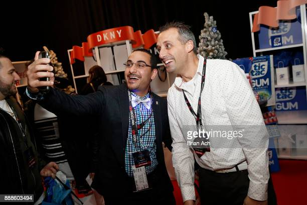 Joe Gatto attends the Z100's Jingle Ball 2017 GIFTING LOUNGE on December 8 2017 in New York City
