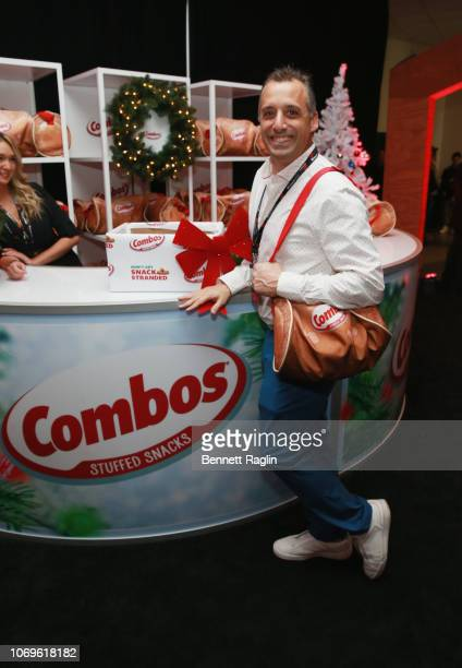 Joe Gatto attends Z100's Jingle Ball 2018 Gift Lounge at Madison Square Garden on December 7 2018 in New York City