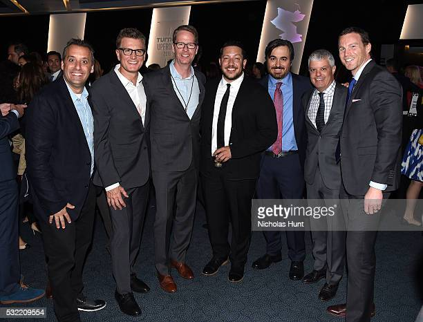 Joe Gatto Chief Creative Officer for Turner Entertainment Kevin Reilly Chris Linn Sal Vulcano Brian Quinn David Levy and guest attend Turner Upfront...