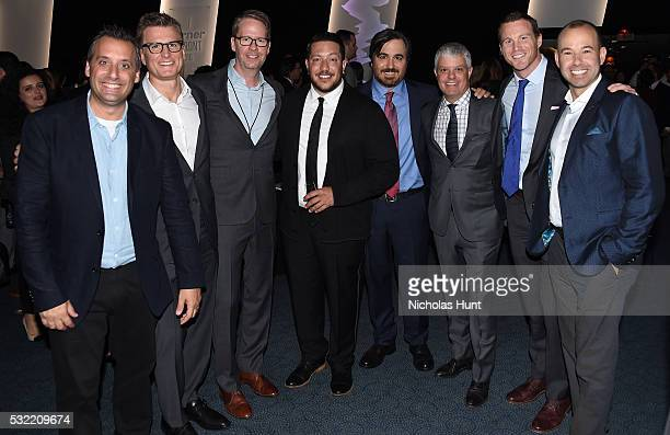 Joe Gatto Chief Creative Officer for Turner Entertainment Kevin Reilly Chris Linn Sal Vulcano Brian Quinn David Levy guest and James Murray attend...
