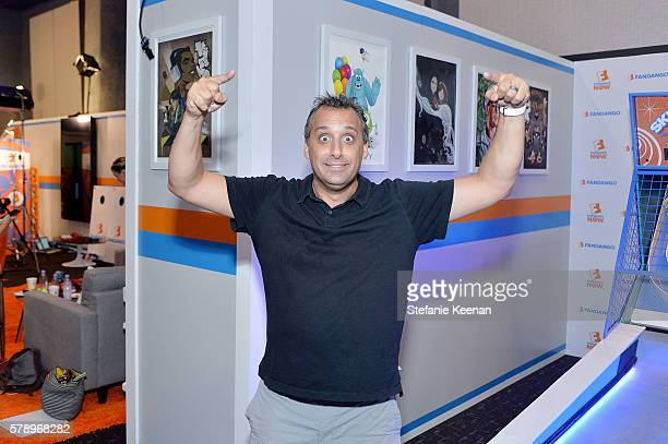 Joe Gatto of TruTV's Impractical Jokers visit he Fandango Studio at San Diego ComicCon International 2016 on July 22 2016 in San Diego California