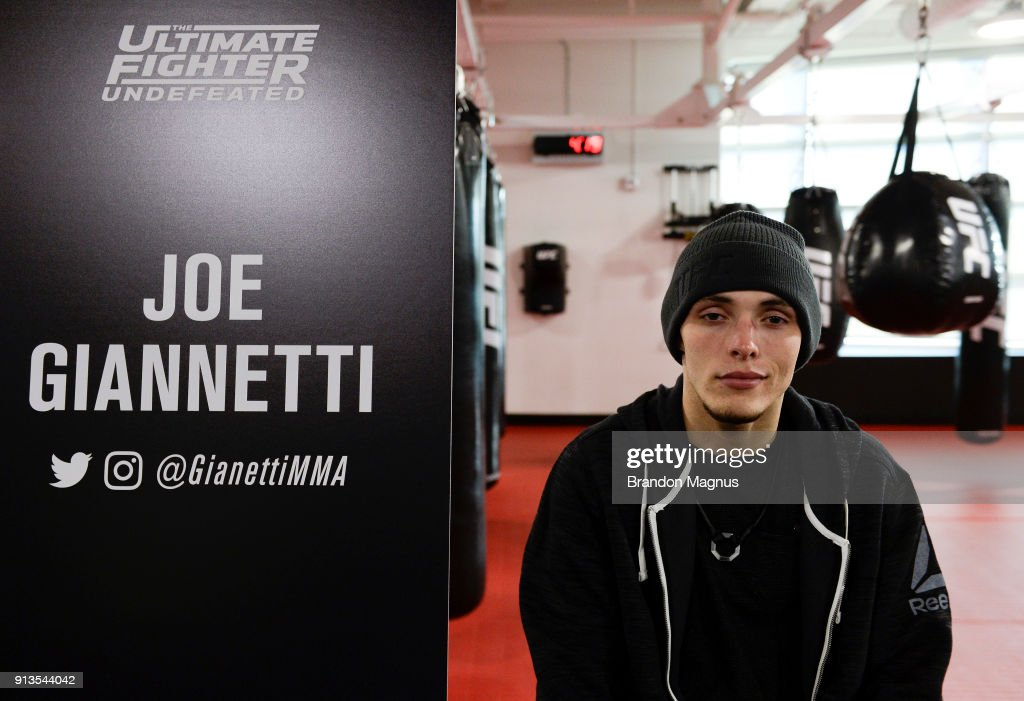The Ultimate Fighter: Undefeated Cast & Coaches Media Day : News Photo