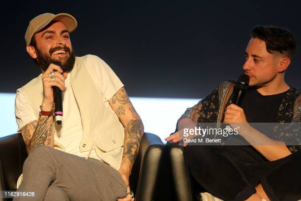 Joe Gilgun and Ryan Sampson attend the Manchester screening of Sky original Brassic all episodes of the comedy drama available 22nd August at Vue...