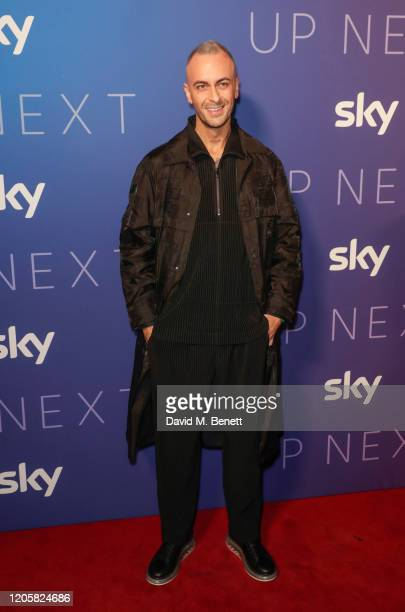 Joe Gilgun attends the Sky TV Up Next Event at Tate Modern on February 12 2020 in London England Up Next is Sky's inaugural showcase event to promote...