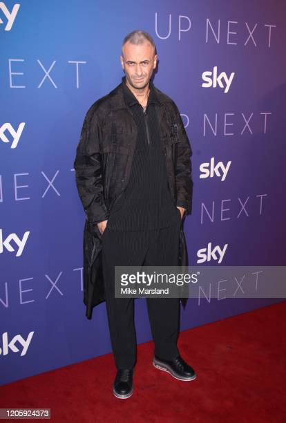 Joe Gilgun attends the Sky Up Next 2020 at Tate Modern on February 12 2020 in London England