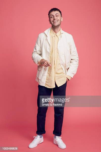 Joe Gilgun from AMC's 'Preacher' poses for a portrait at the Getty Images Portrait Studio powered by Pizza Hut at San Diego 2018 Comic Con at Andaz...