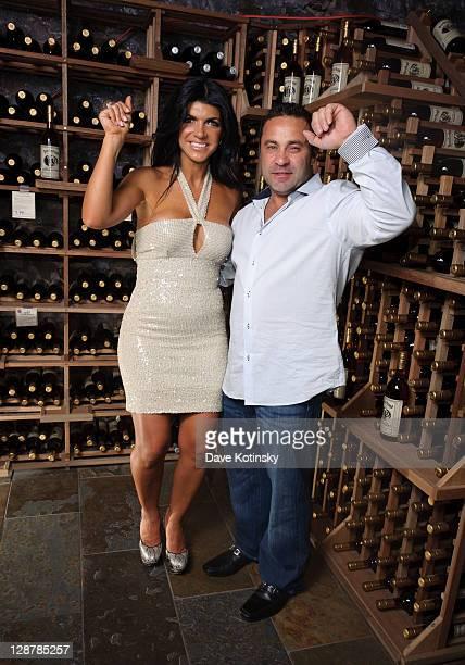 Joe Giudice and Teresa Giudice attend the Fabellini Wine Launch at Brotherhood Winery on October 7, 2011 in Washingtonville, New York.