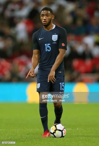 Joe Gomez of England during the International Friendly fixture between Germany and England at Wembley Stadium on November 10 2017 in London England
