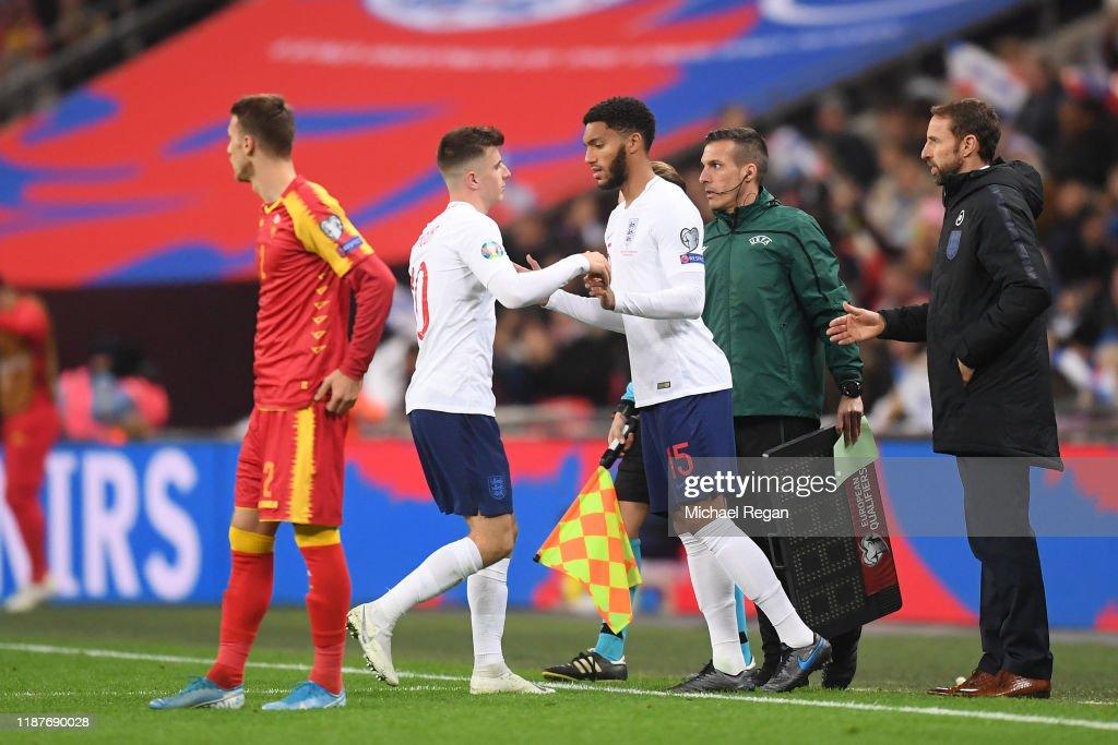 England v Montenegro - UEFA Euro 2020 Qualifier : ニュース写真