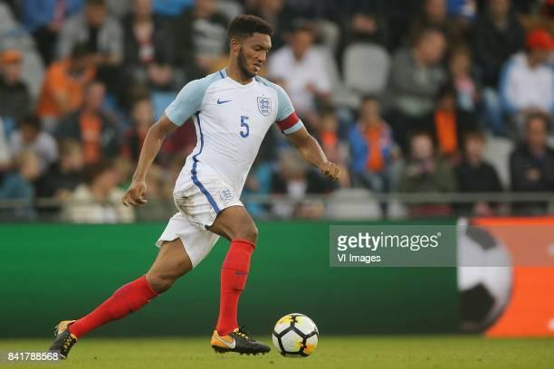 Joe Gomez of England U21 during the EURO U21 2017 qualifying match between Netherlands U21 and England U21 at the Vijverberg stadium on September 01...