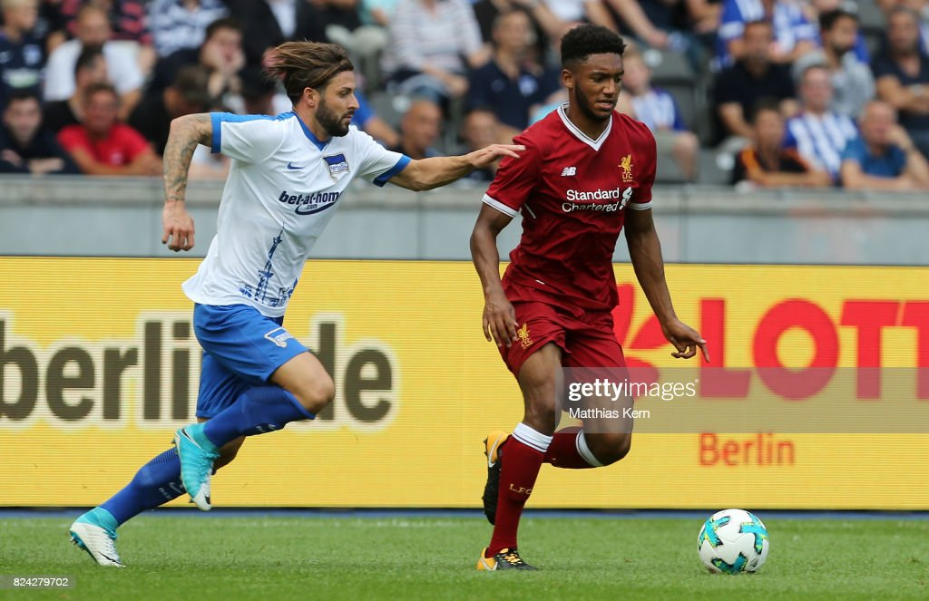 Hertha BSC v FC Liverpool - Pre Season Friendly : News Photo