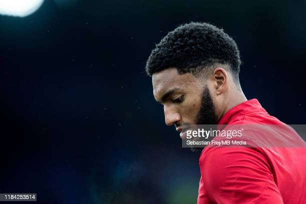 Joe Gomez of Liverpool FC during the Premier League match between Crystal Palace and Liverpool FC at Selhurst Park on November 23 2019 in London...
