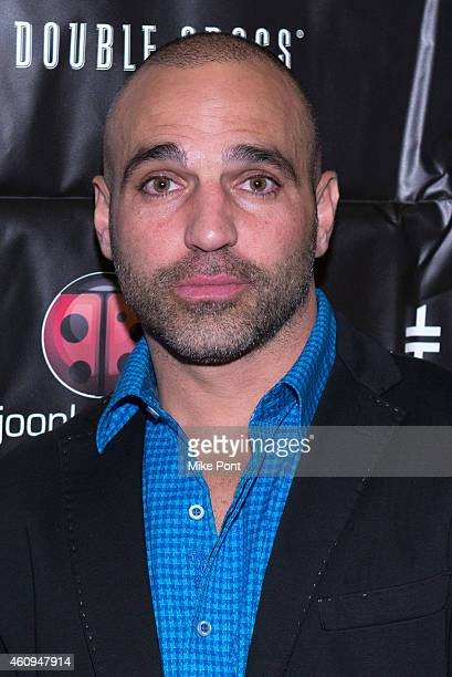 Joe Gorga attends the 4th annual New Year's Eve Extravaganza hosted by Melissa Gorga at AMC Loews 34th Street 14 theater on December 31 2014 in New...