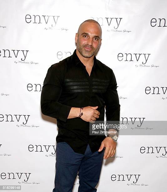 Joe Gorga attends the envy By Melissa Gorga Fashion Show at Macaluso's on March 30 2016 in Hawthorne New Jersey