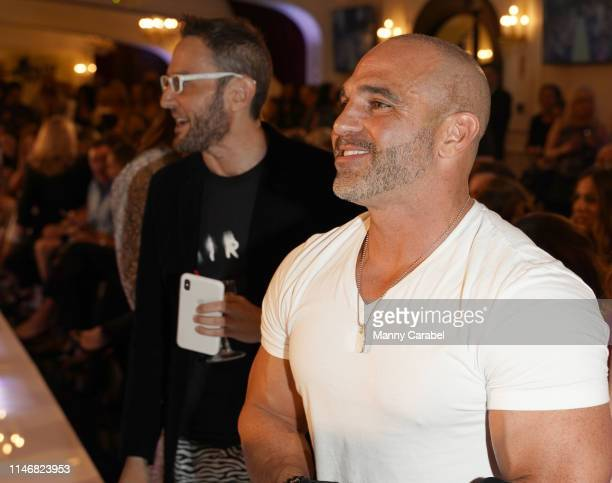 Joe Gorga attends the Envy By Melissa Gorga Fashion Show on May 03, 2019 in Hawthorne, New Jersey.