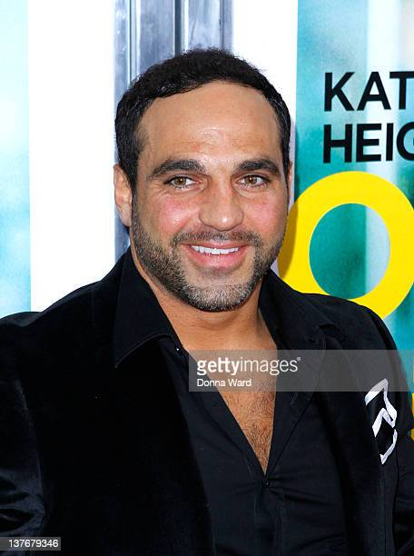 Joe Gorga attends the One for the Money premiere at the AMC Loews Lincoln Square on January 24 2012 in New York City