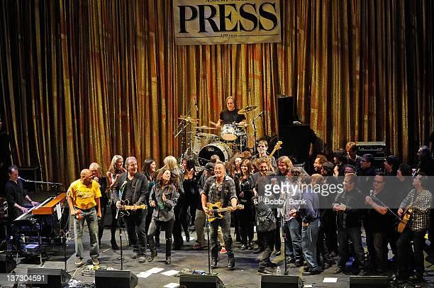 Joe Grushecky Vinnie PastoreGarland Jeffreys Bruce Springsteen and Founder of Light of Day Bob Benjamin Max Weinberg David Bromberg John Eddie James...
