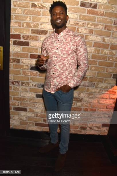 Joe Hagan attends the Edeline Lee X Glass Magazine party during London Fashion Week September 2018 at Kadie's Cocktail Bar Club on September 17 2018...