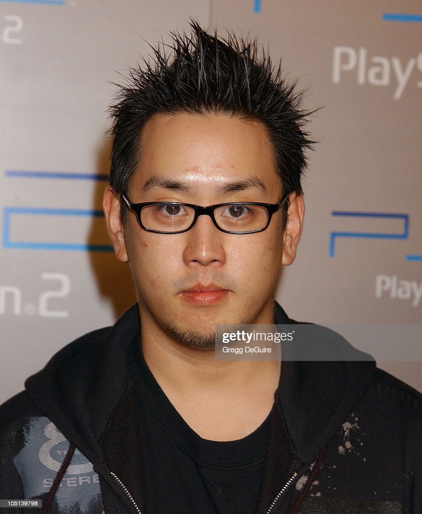 Joe Hahn of 'Linkin Park' during Playstation 2 'Playa Del Playstation' Party at Viceroy Hotel in Santa Monica, California, United States.