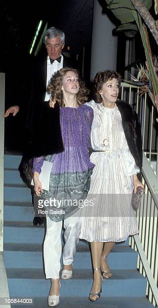 Joe Hamilton, Carrie Hamilton and Carol Burnett during 36th Annual Golden Globe Awards at Beverly Hilton Hotel in Beverly Hills, California, United...