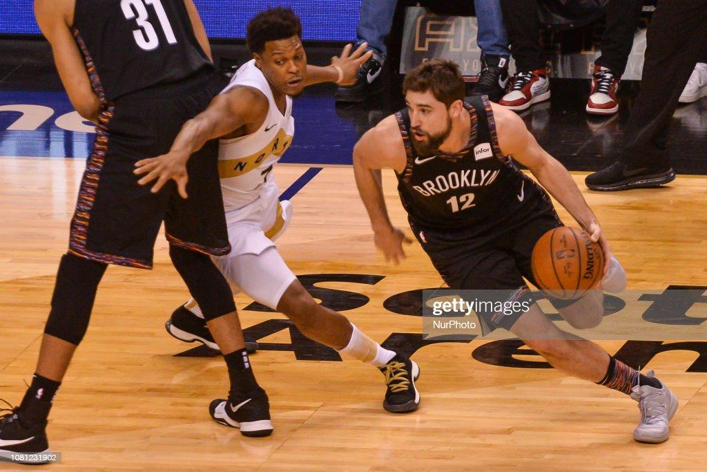 Toronto Raptors v Brooklyn Nets - NBA Regular Season Game : News Photo