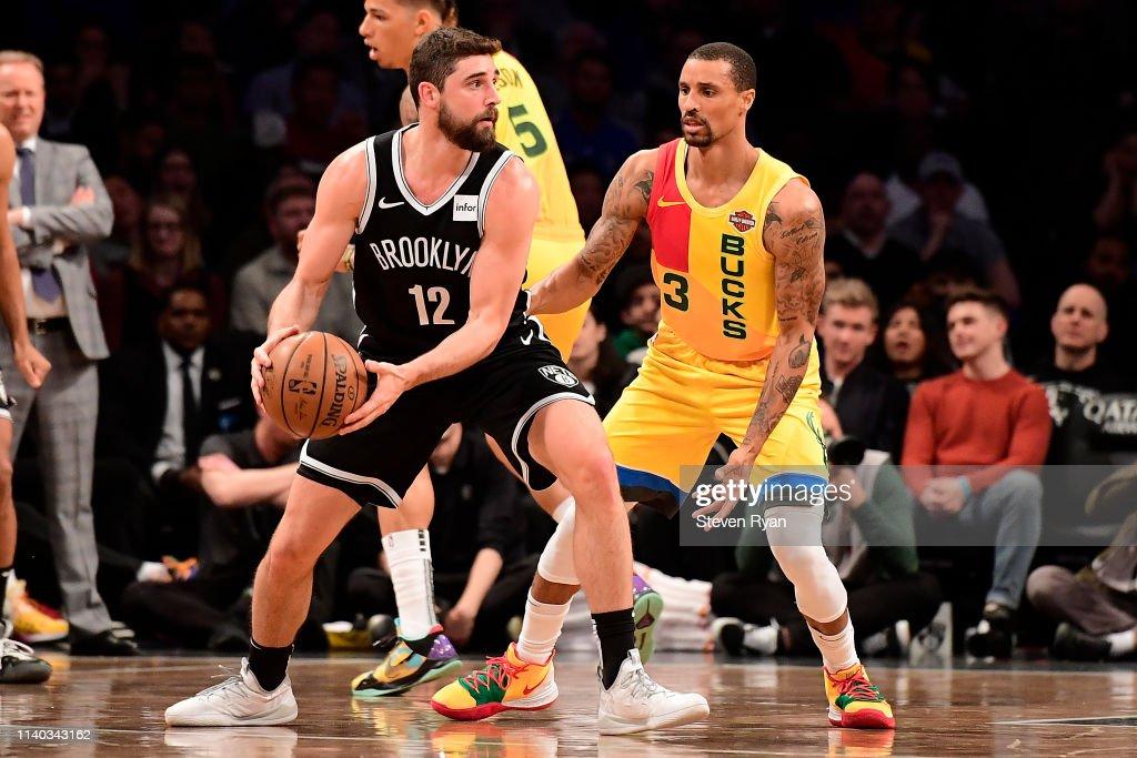 Milwaukee Bucks v Brooklyn Nets : News Photo