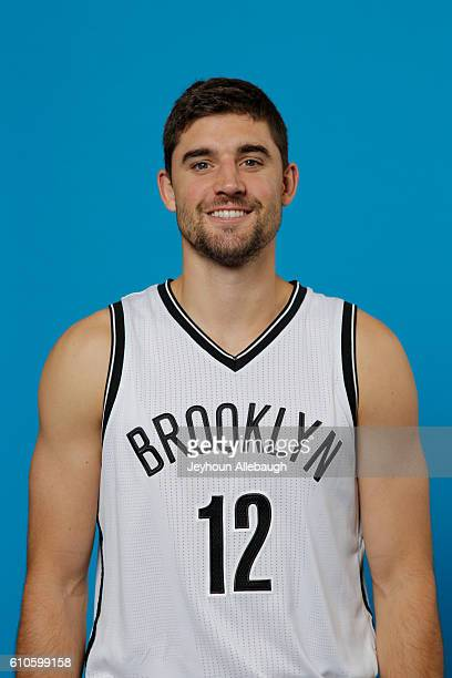 Joe Harris of the Brooklyn Nets poses for a head shot during the 20162017 Brooklyn Nets Media Day on September 26 2016 at the HSS Training Facility...