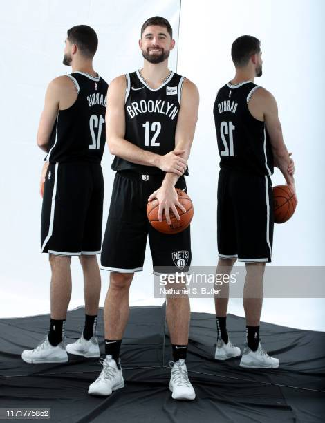 Joe Harris of the Brooklyn Nets poses for a portrait during Media Day on September 27 2019 at HSS Training Center in Brooklyn New York NOTE TO USER...