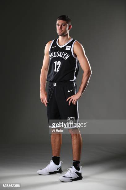 Joe Harris of the Brooklyn Nets poses for a portrait during Media Day at HSS Training Center on September 25 2017 in the Brooklyn Borough of New York