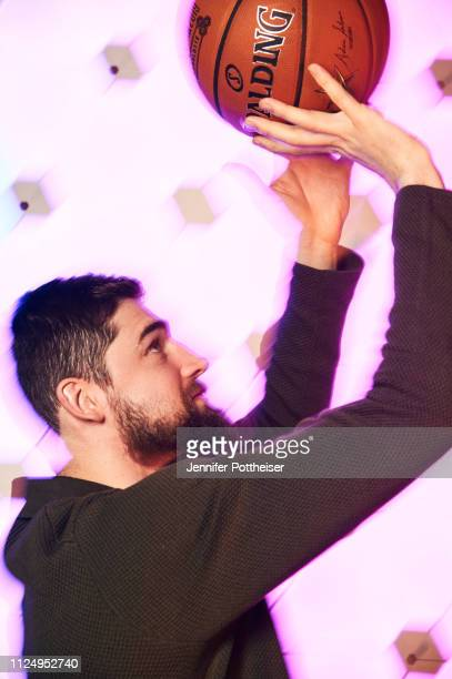 Joe Harris of the Brooklyn Nets poses for a portrait during the 2019 NBA AllStar circuit on February 14 2019 at the Sheraton Hotel in Charlotte North...