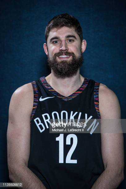 Joe Harris of the Brooklyn Nets poses for a portrait during the 2019 State Farm AllStar Saturday Night on February 16 2019 at the Spectrum Center in...
