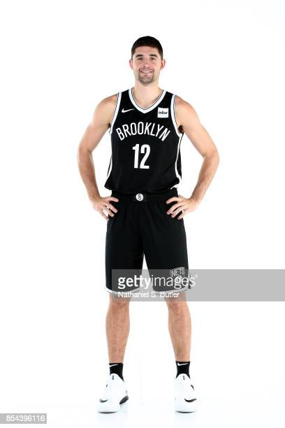 Joe Harris of the Brooklyn Nets poses for a portrait during the 20172018 Brooklyn Nets Media Day at the Hospital for Special Surgery Training Center...