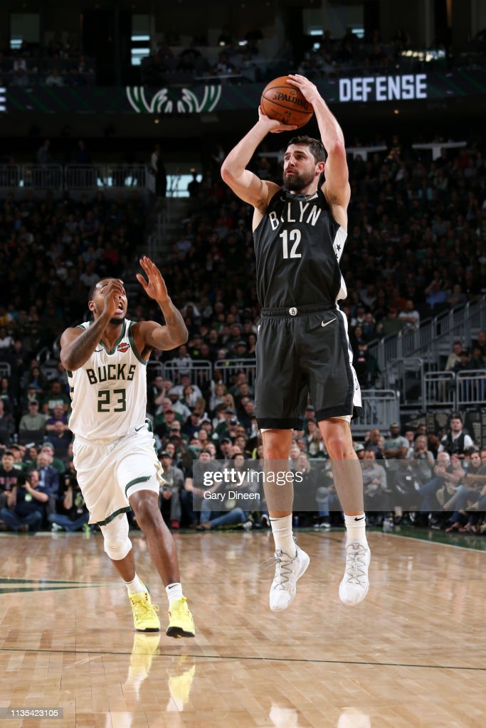 Brooklyn Nets v Milwaukee Bucks : News Photo