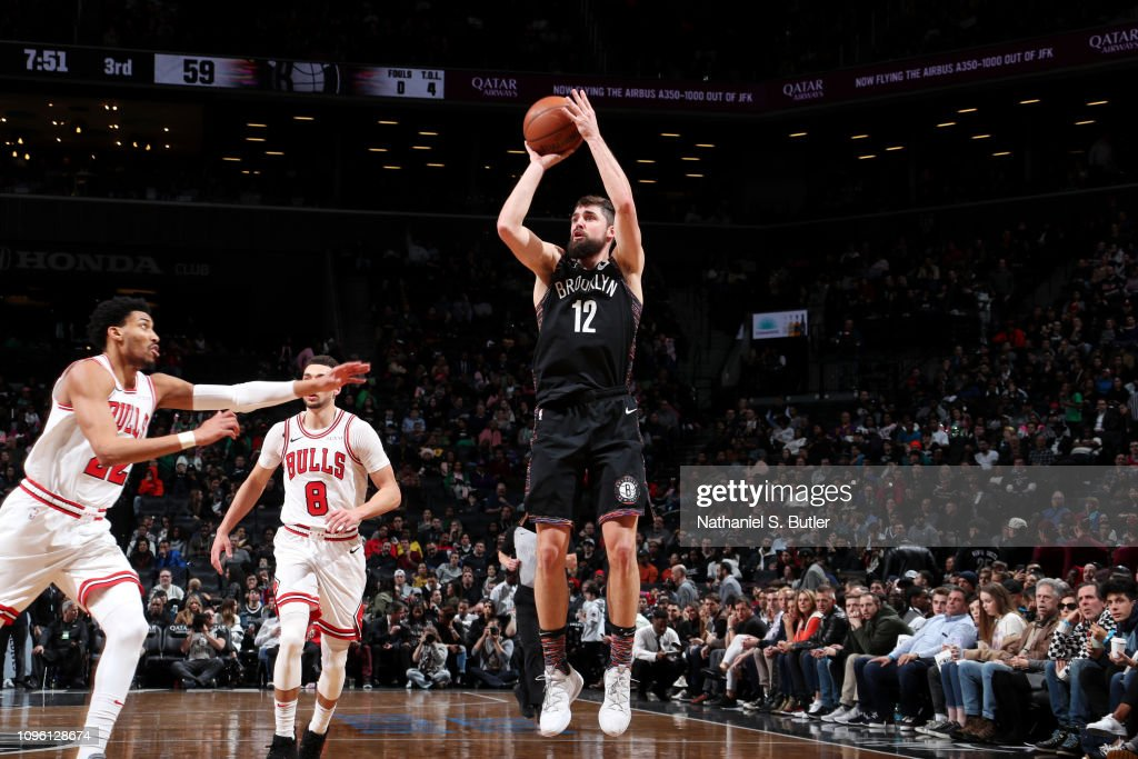 Chicago Bulls v Brooklyn Nets : News Photo