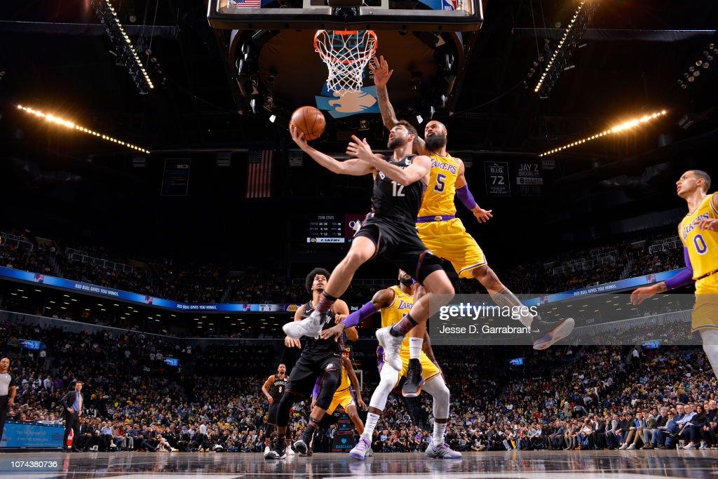 Los Angeles Lakers v Brooklyn Nets : News Photo