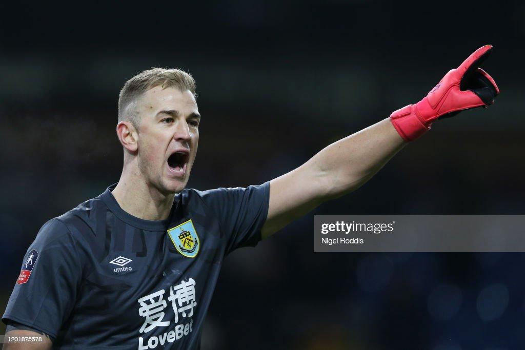 Burnley FC v Norwich City - FA Cup Fourth Round : Nieuwsfoto's