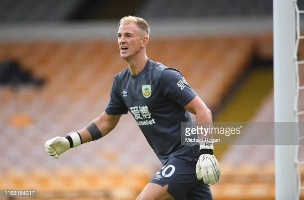 Joe Hart of Burnley looks on during the Pre-Season Friendly match between Port Vale and Burnley at Vale Park on July 20, 2019 in Burslem, England.