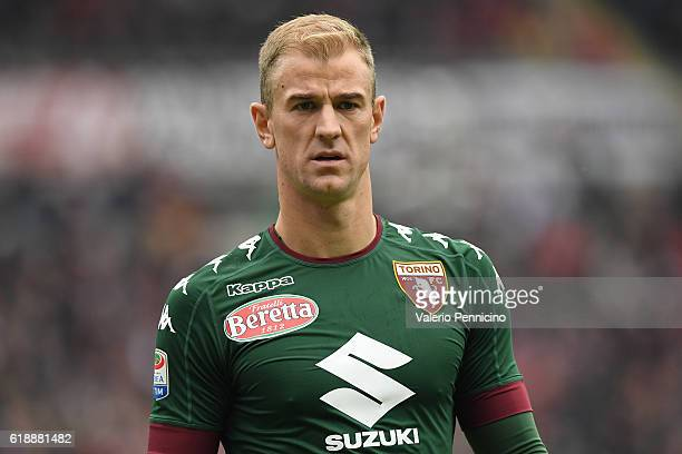 Joe Hart of FC Torino looks on during the Serie A match between FC Torino and SS Lazio at Stadio Olimpico di Torino on October 23 2016 in Turin Italy