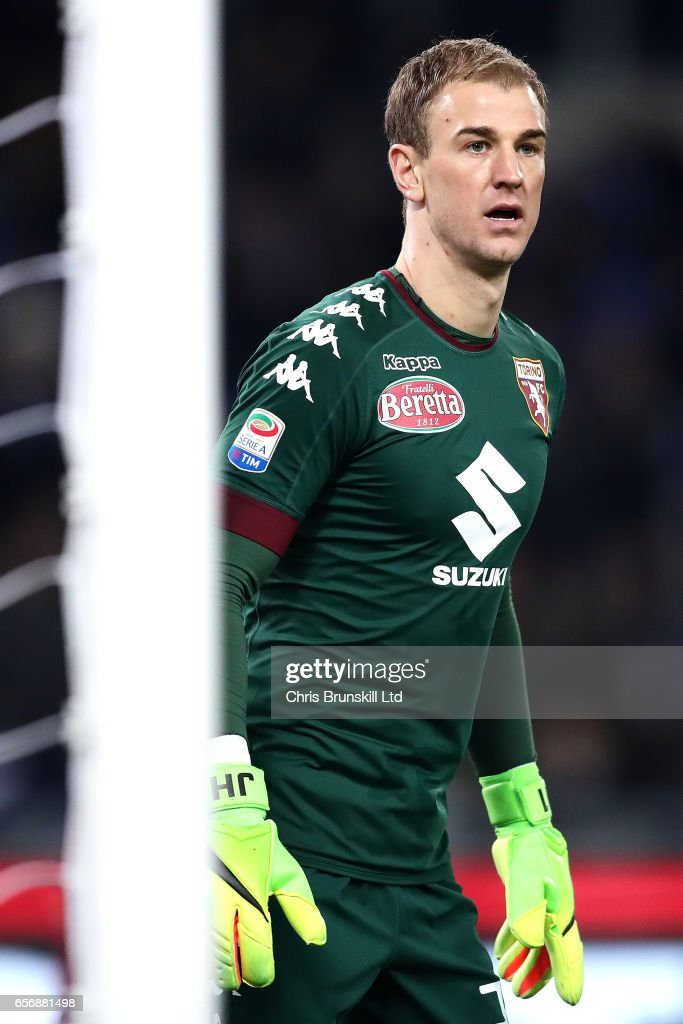 Joe Hart of FC Torino looks on during the Serie A match between SS Lazio and FC Torino at Stadio Olimpico on March 13, 2017 in Rome, Italy.