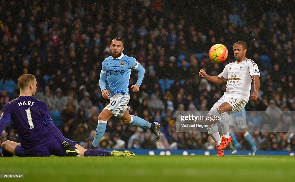 Manchester City v Swansea City - Premier League : News Photo