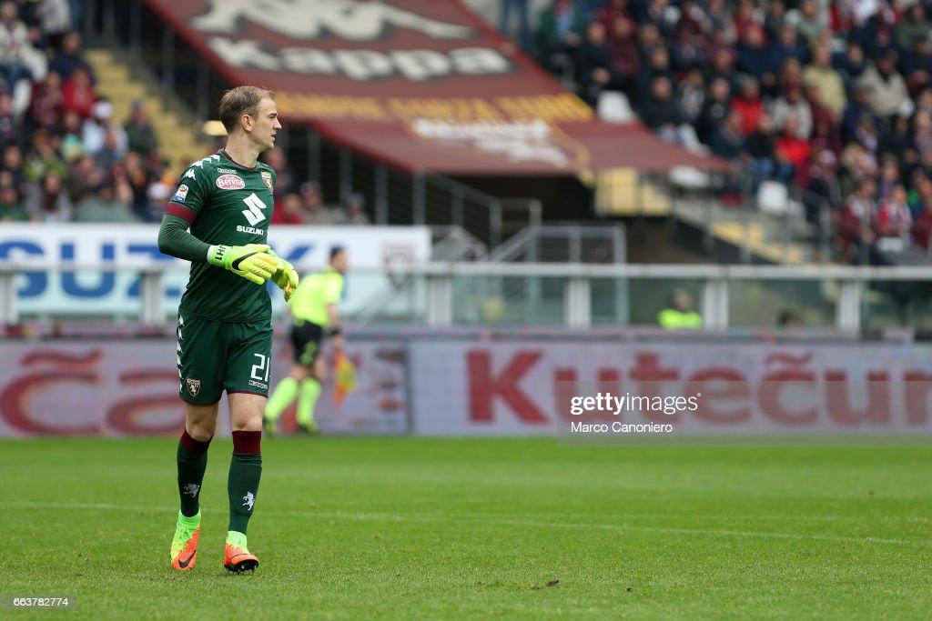 Joe Hart of Torino FC  during the Serie A football match... : News Photo