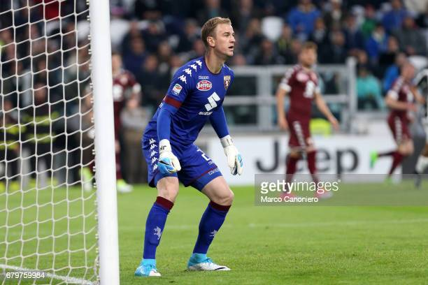 Joe Hart of Torino FC in action during the Serie A football match between Juventus Fc and Torino Fc