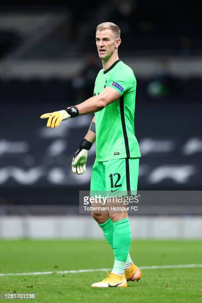 Joe Hart of Tottenham Hotspur during the UEFA Europa League Group J stage match between Tottenham Hotspur and LASK at Tottenham Hotspur Stadium on...